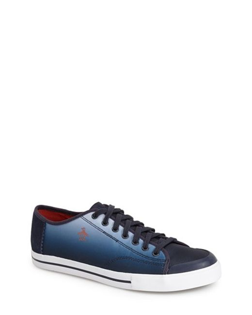 Original Penguin | Blue 'Chiller' Sneaker for Men | Lyst