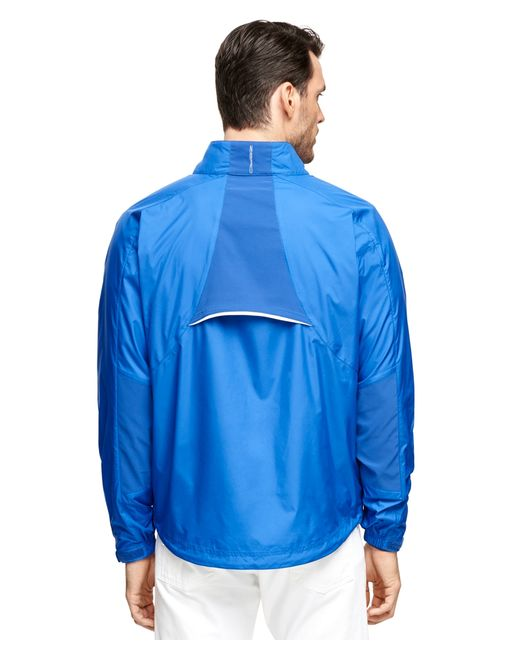 Brooks Brothers | Blue Zero Restriction Windbreaker for Men | Lyst