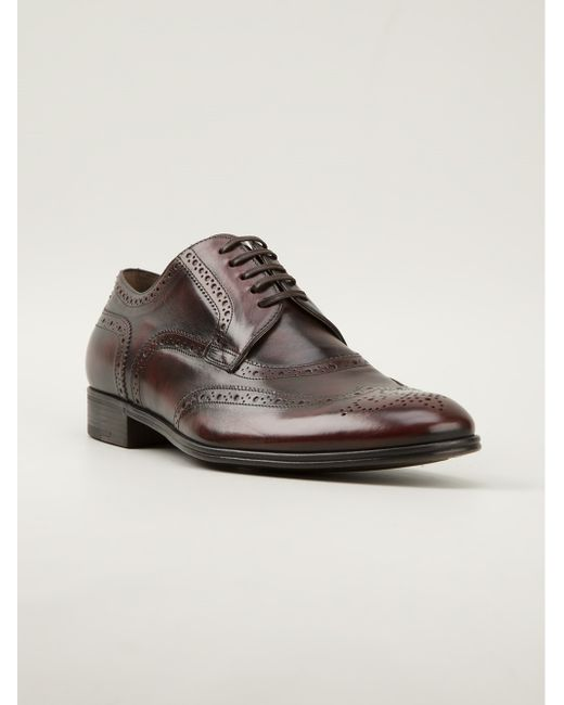Dolce & Gabbana | Brown Laceup Shoe for Men | Lyst