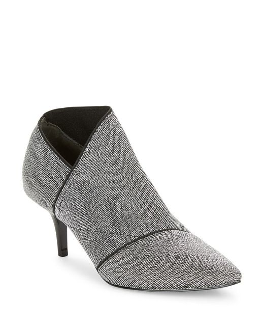 Adrianna Papell | Gray Heather Asymmetrical Booties | Lyst
