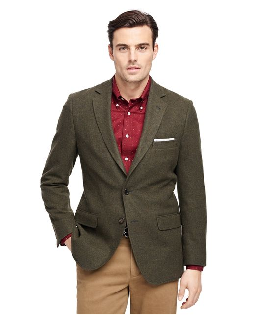 Brooks Brothers | Green Fitzgerald Fit Two-button Wool Sport Coat for Men | Lyst