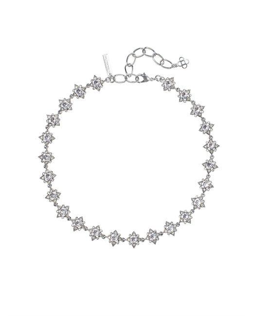 Oscar de la Renta | Metallic Swarovski Crystal Delicate Star Necklace | Lyst