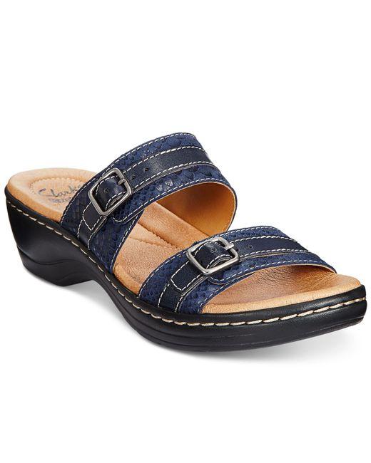 Clark Shoes For Women Navy