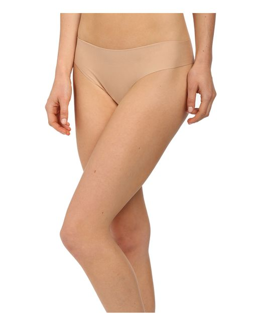 Commando | Natural Butter Mid Rise Thong Ct16 | Lyst