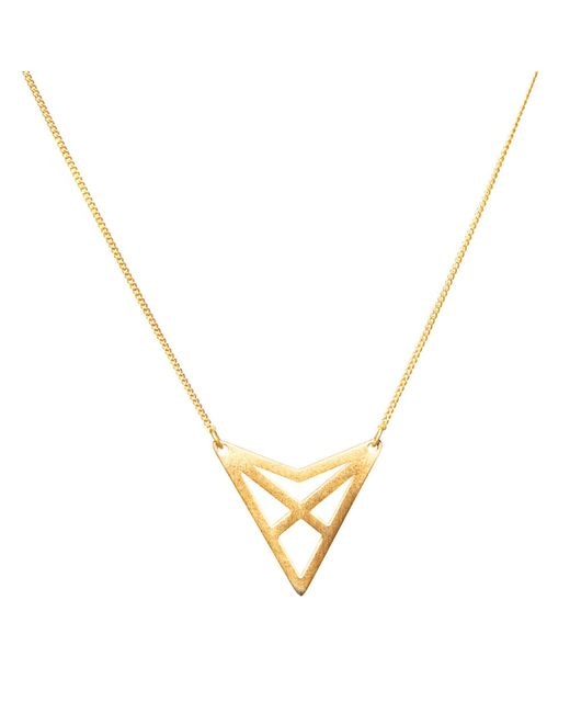 Dutch Basics | Metallic Hef Fine Chain Necklace | Lyst