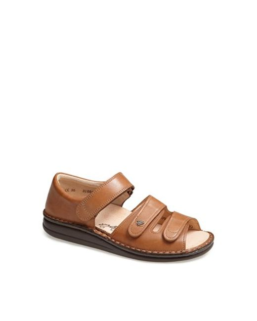Finn Comfort   Brown 'baltrum 1518' Leather Sandal   Lyst