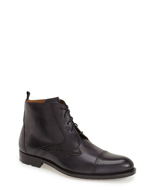 Mezlan | Gray 'breman' Boot for Men | Lyst