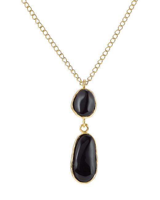 Kenneth Jay Lane | Black Embellished Necklace | Lyst
