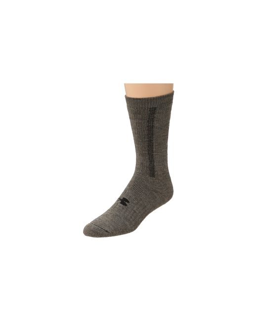 Under Armour | Gray Coldgear® Wool Boot Sock for Men | Lyst