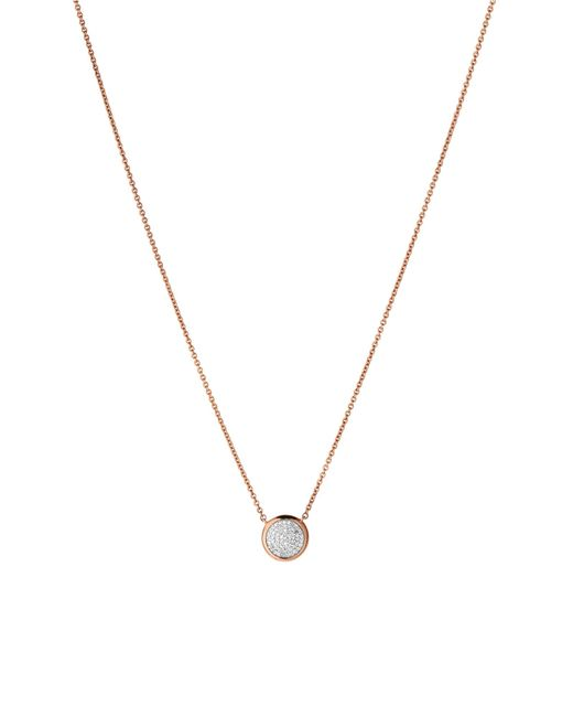 Links of London | Pink Diamond Essentials Round Necklace | Lyst