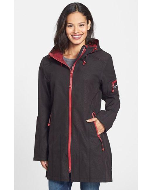 Ilse Jacobsen | Black Hornbaek Rain 7 Hooded Coat | Lyst
