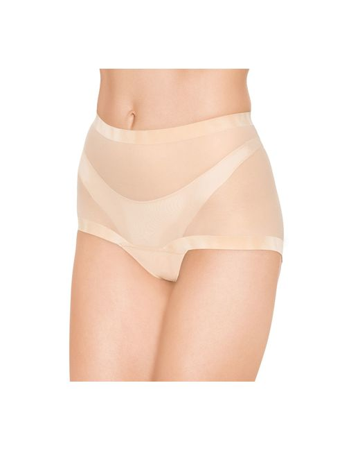 Wolford | Natural Tulle Control Panty | Lyst