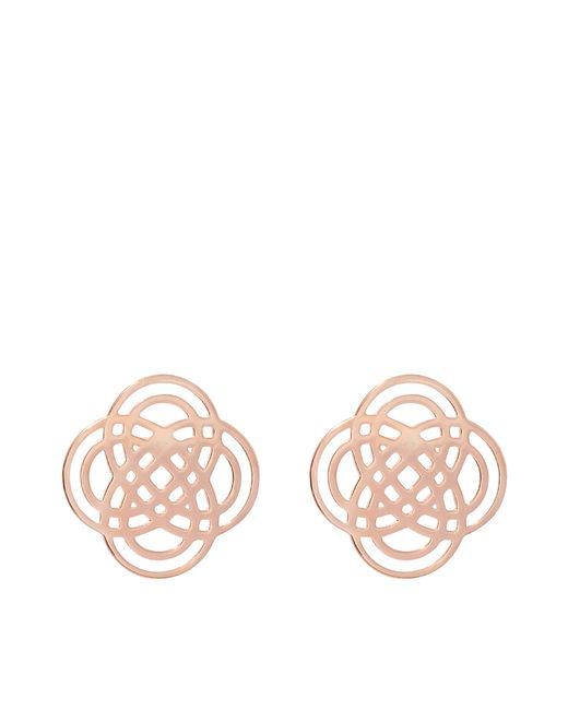 Ginette NY | Pink Purity Stud Earrings | Lyst