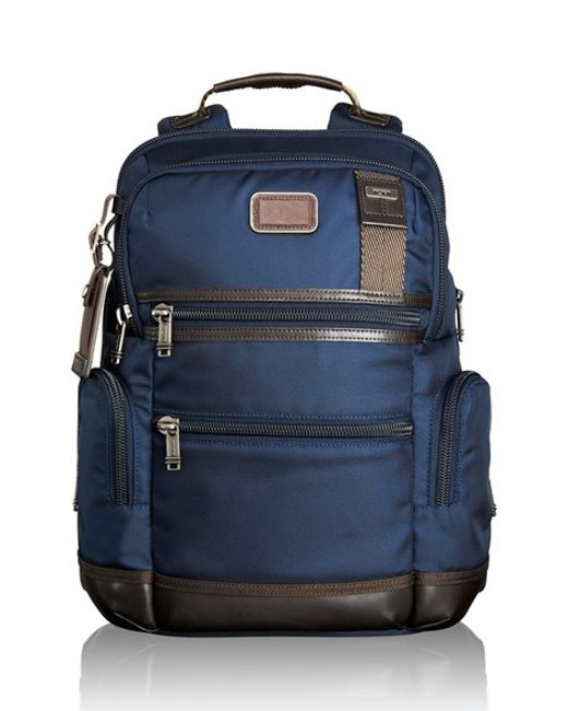 Tumi | Blue Alpha Bravo Backpack for Men | Lyst