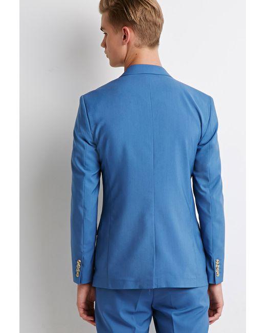 Forever 21 | Blue Two-button Blazer for Men | Lyst