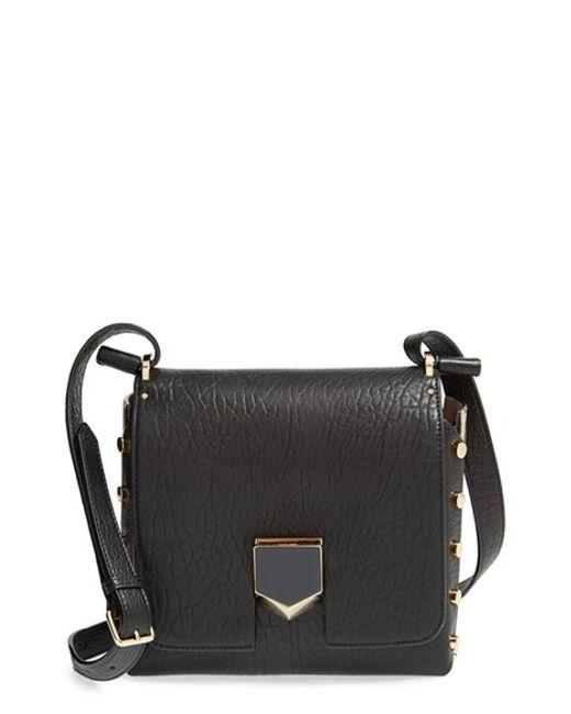 Jimmy choo 'Lockett' Studded Crossbody Bag in Black (BLACK ...