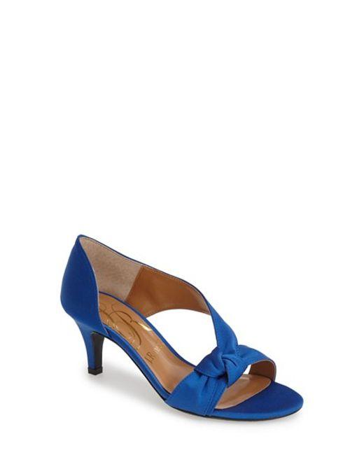 J. Reneé | Blue 'jaynnie' D'orsay Sandal | Lyst