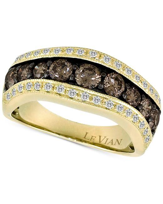 Le Vian | Metallic Chocolatier® Diamond Ring (1-1/3 Ct. T.w.) In 14k Gold | Lyst