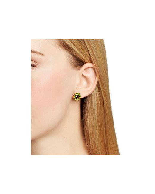Sorrelli   Multicolor Round Stud Earrings   Lyst