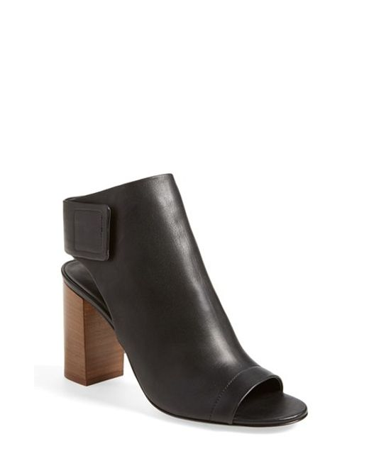 VINCE | Gray 'faye' Leather Bootie | Lyst