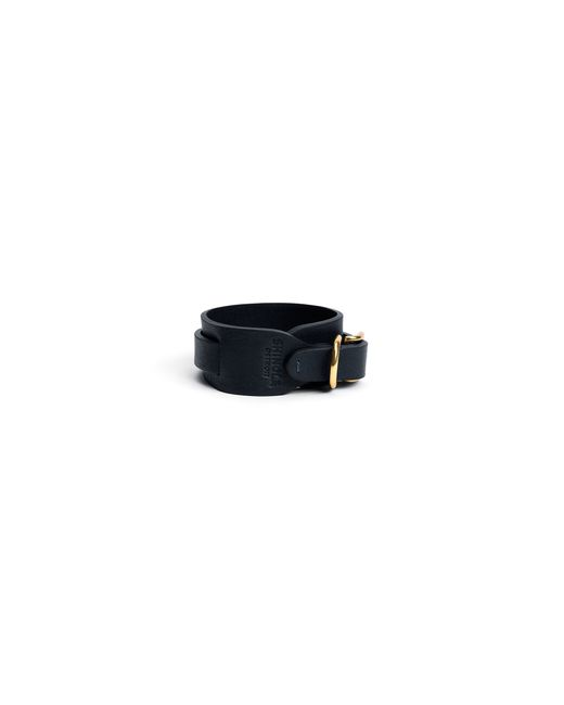 Shinola | Blue Wide Double Wrap Leather Bracelet for Men | Lyst