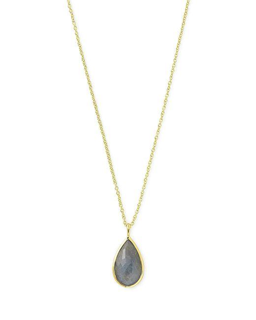 Ippolita   Metallic 18k Rock Candy® Teardrop Pendant Necklace   Lyst