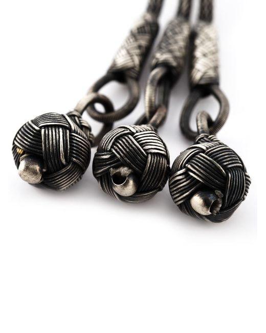 Monan | Black Woven Beads Necklace | Lyst