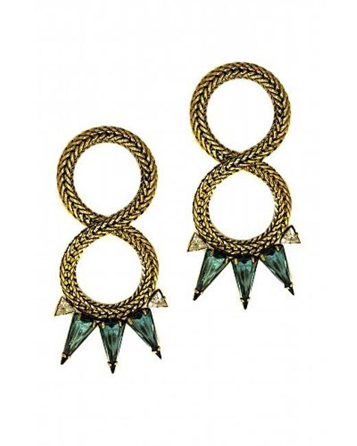 Nicole Romano | Metallic Jie Earrings | Lyst