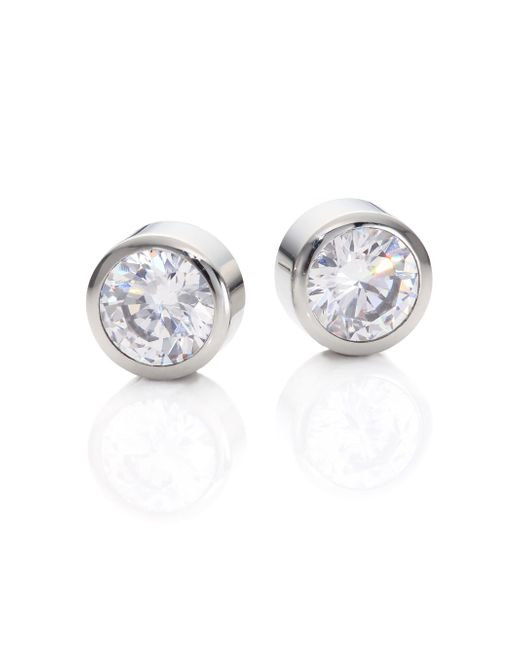 Michael Kors | Metallic Park Avenue Glam Jeweled Stud Earrings/silvertone | Lyst