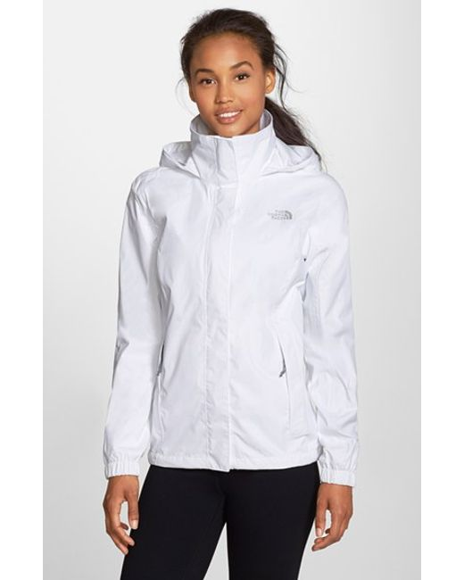 The North Face | White 'resolve' Waterproof Jacket | Lyst