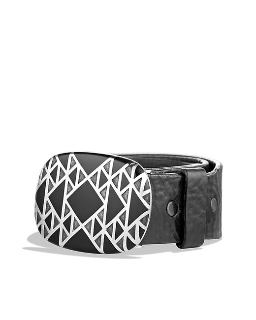 David Yurman | Black Frontier Belt Buckle for Men | Lyst