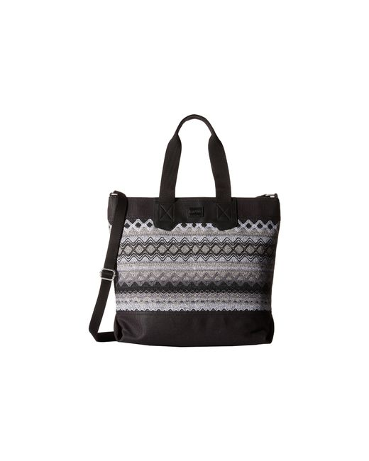 TOMS | Black City Sweater Felt Tote | Lyst