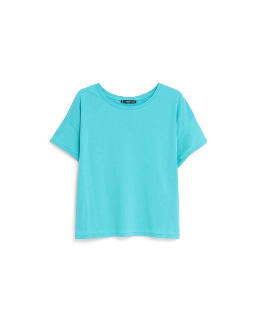 Mango | White Cotton T-shirt | Lyst