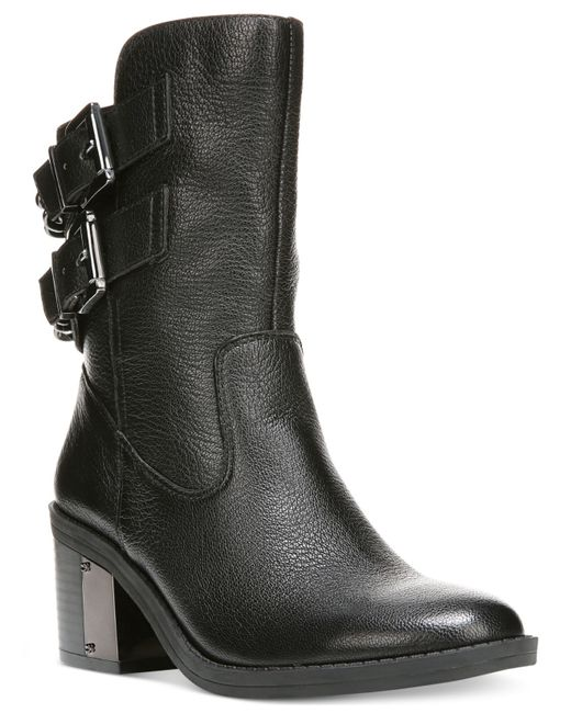 Fergie Wistful Leather Ankle Boots in Black | Lyst Fergie Shoes