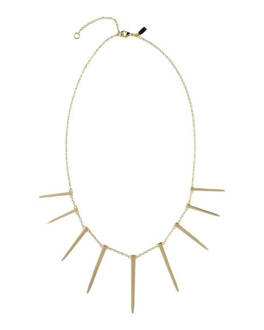 Elizabeth and James | Metallic Necklace | Lyst