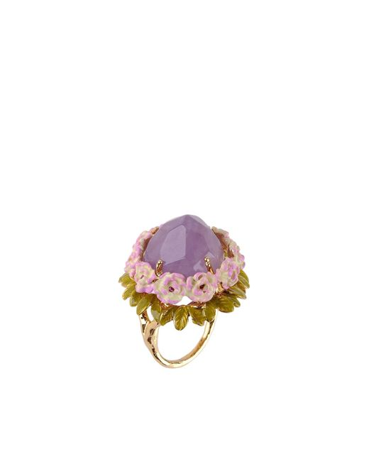 Les Nereides | Purple Ring | Lyst
