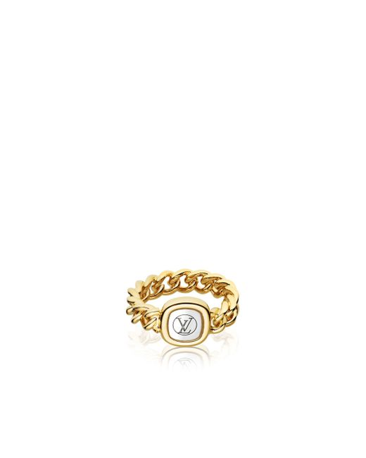 Louis Vuitton | Metallic I.d. Ring | Lyst