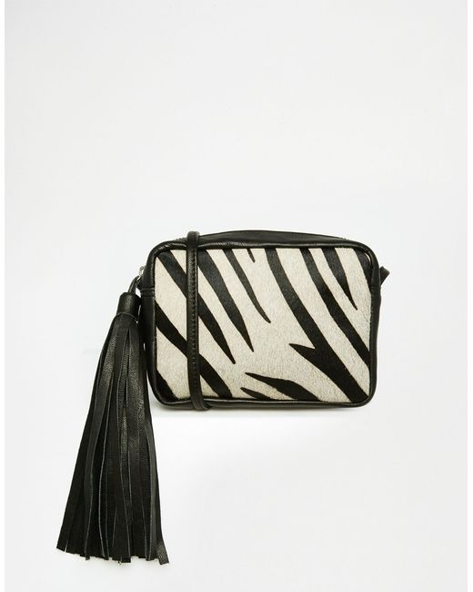 Zebra Cross Body Bag 105