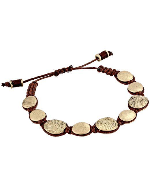 The Sak | Metallic Batik Pebble Slider Bracelet | Lyst