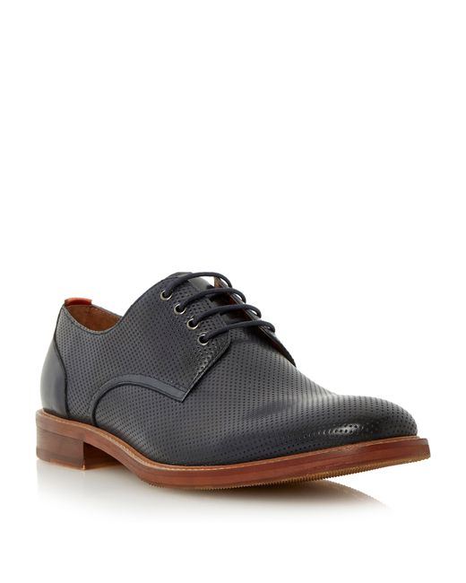 Bertie | Blue Rusty Lace Up Formal Oxford Shoes for Men | Lyst