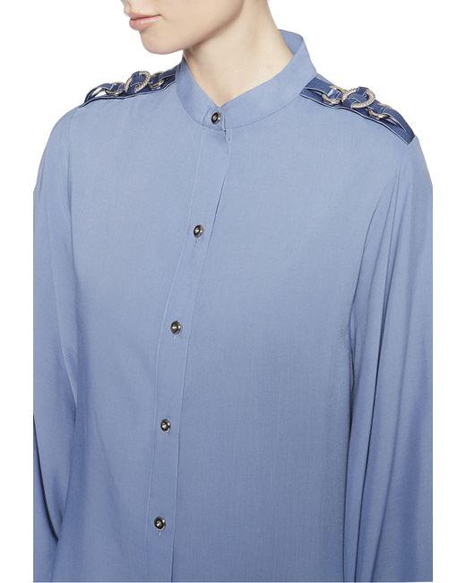 La Perla | Gray Shirt | Lyst