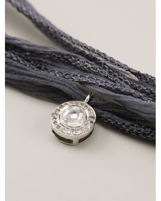 Christian Koban | Gray 'slice' Diamond Necklace | Lyst