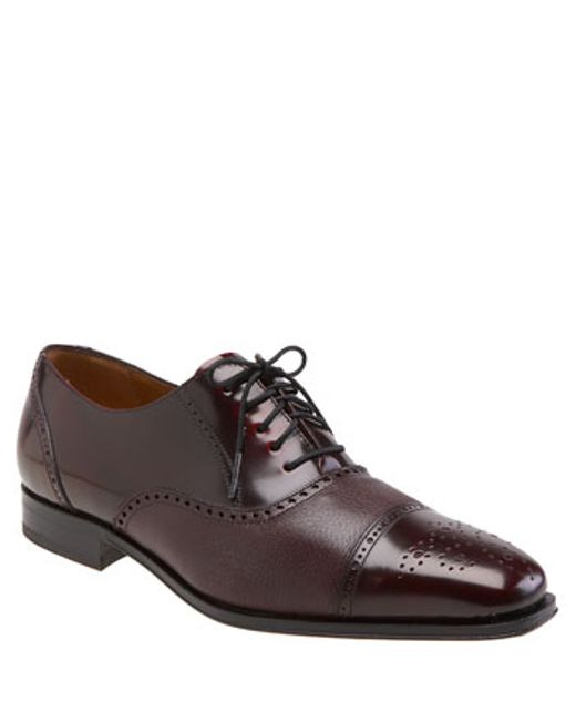Mezlan | Purple 'tyson Ii' Oxford for Men | Lyst