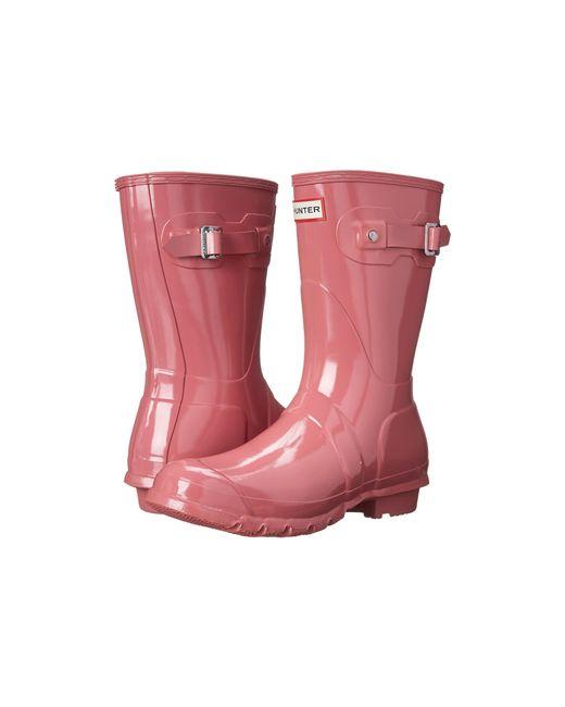 Hunter | Pink Original Short Gloss | Lyst
