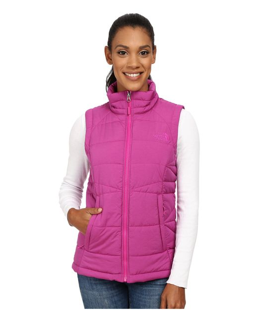 The North Face | Pink Roamer Vest | Lyst