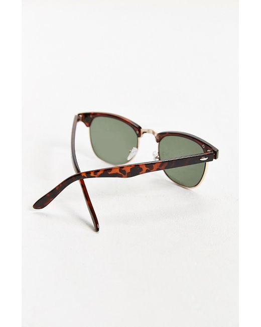 Urban Outfitters   Brown Mass Round Sunglasses for Men   Lyst