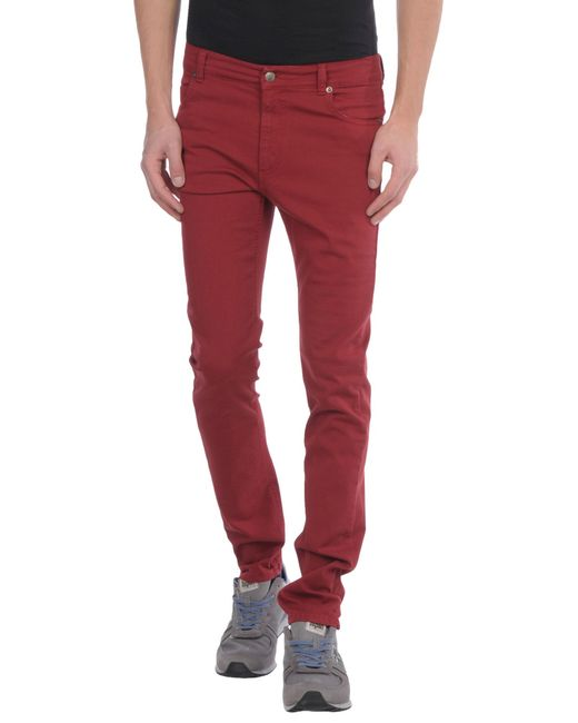 Societe Anonyme | Purple Denim Pants for Men | Lyst