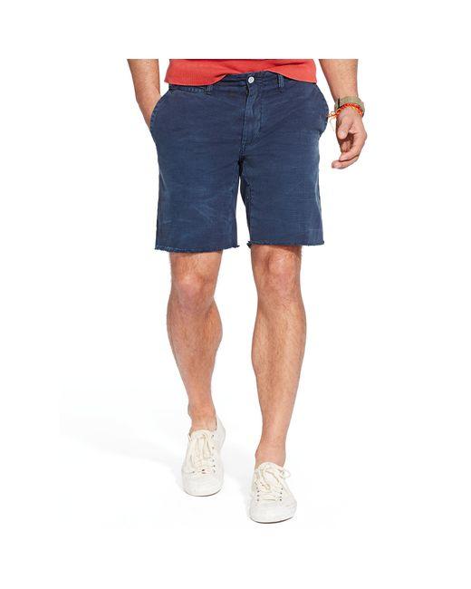Polo Ralph Lauren   Blue Straight-fit Twill Short for Men   Lyst