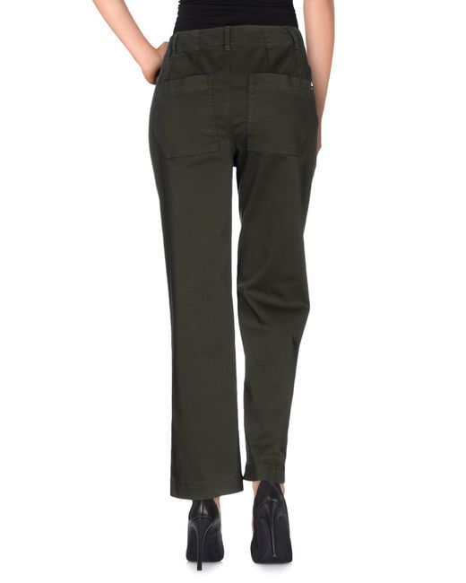 Dondup | Green Casual Trouser | Lyst