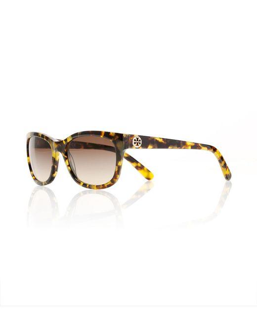 Tory Burch | Yellow Classic Sunglasses | Lyst